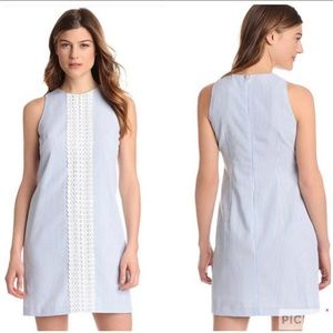 London Times Seersucker Shift Dress NWT